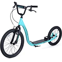 Osprey BMX Scooter Trottinette Mixte Adulte, Bleu, m
