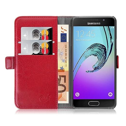 296 opinioni per Cover Galaxy A3 (2016), JAMMYLIZARD Custodia Luxury Wallet a Libro in Pelle per