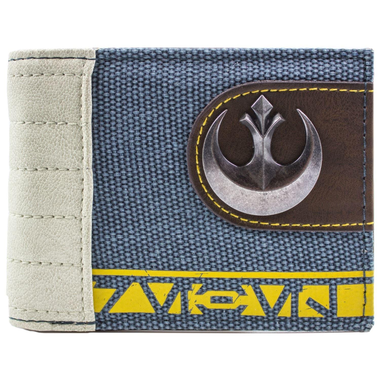 Star Wars Rogue One Rebel Symbole Bleu Portefeuille