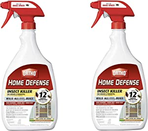 Ortho 0221310 Home Defense MAX Insect Killer for Indoor and Perimeter RTU Trigger (2)
