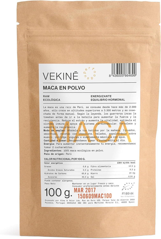 Maca Ecológica en polvo 100 gr | La mejor calidad | Superalimentos ...