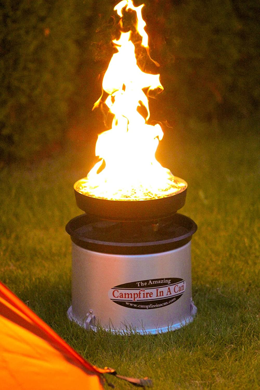 Amazon.com: Campfire In A Can Portable Propane Outdoor Fire Pit Patio  Heater: Sports U0026 Outdoors