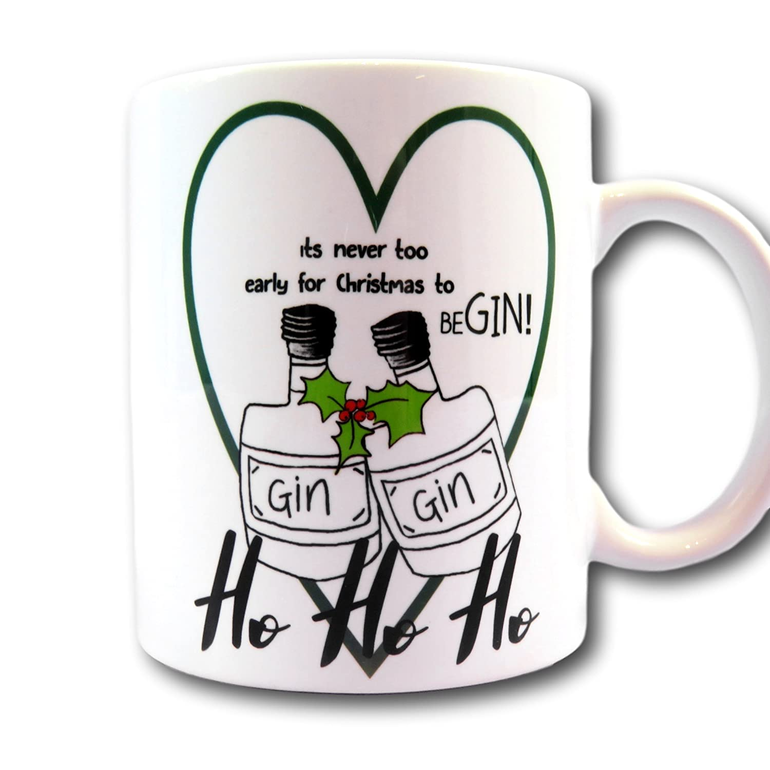 Early for Christmas to begin Gin Mug Gin Bells Gin Lover Present ...
