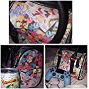 22140016b9bc5c Amazon.com: DC Comics Bombshells Mini Satchel Purse: Clothing