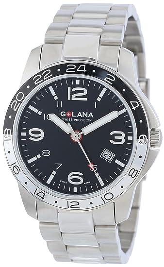 fbb29c620eea Golana Aero Pro Swiss Made AE300.2 - Reloj de caballero de cuarzo ...