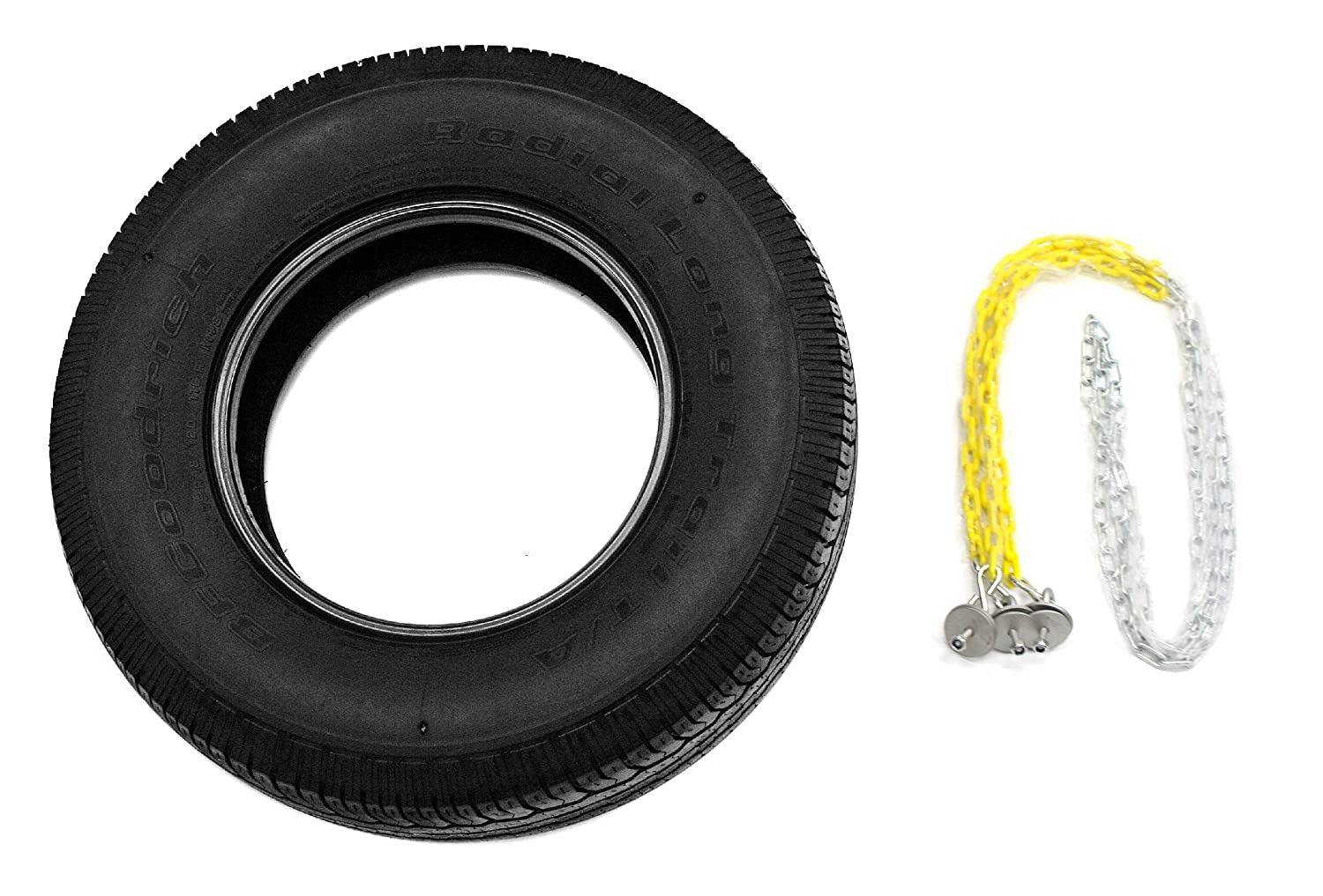 Tire Swing Attachment  Gym Heavy Duty Tire Swivel Ready to Use