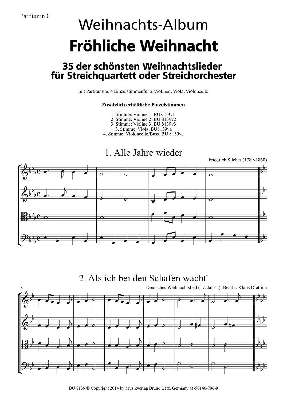 Fröhliche Weihnacht. 35 der schönsten Weihnachtslieder für ...