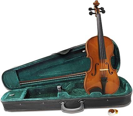 Windsor MI-1006 violín de tamaño completo 4/4 incluyendo estuche ...