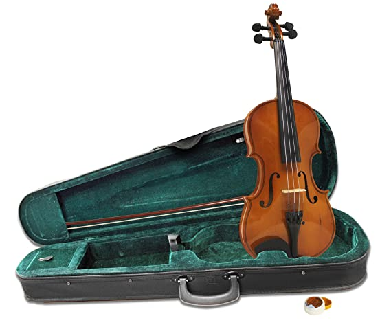 Amazon Windsor MI 1013 1 4 Size Violin Outfit Including Case Designed For Children Musical Instruments