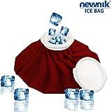 Newnik Cool Pack Ice Bag - 9 inch (Maroon)