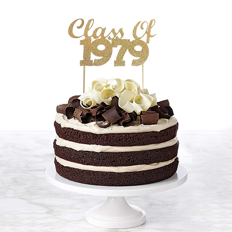 Class of 1979 Cake Topper, 40th Class Reunion Cake Topper