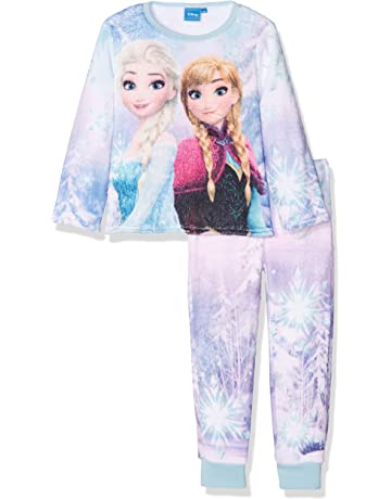 6512a405e5 Disney Girl s Frozen Olaf Long Sleeve Pyjama Sets