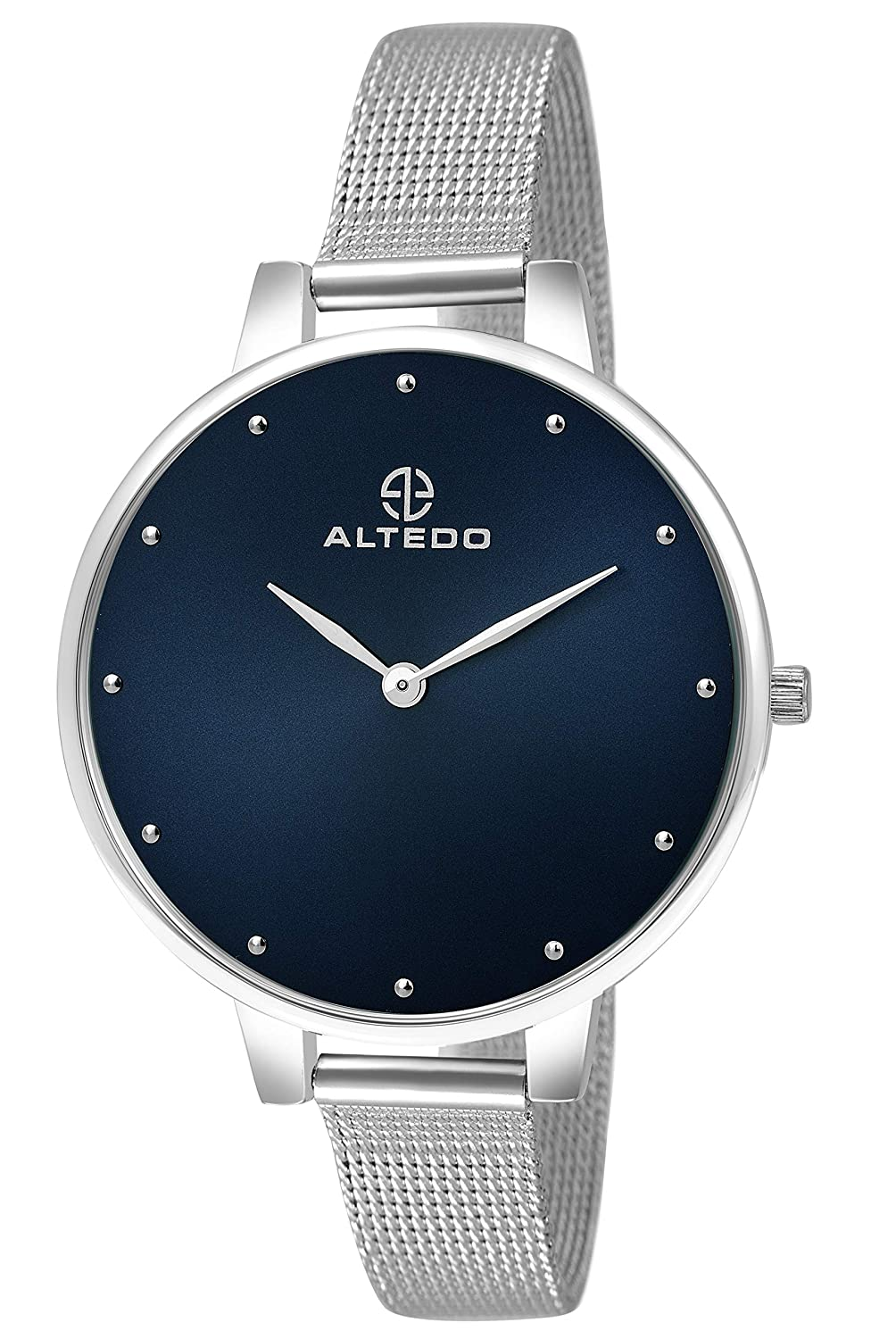 ALTEDO Analog Blue Dial Premium Watch for Women