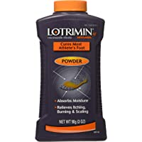 Lotrimin AF Athlete's Foot Antifungal Powder, Miconazole Nitrate 2% Treatment, Clinically Proven Effective Antifungal Treatment of Most AF, Jock Itch and Ringworm, 3 Ounces (90 Grams) Bottle