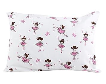 BB MY BEST BUDDY toddler kids Pillowcase - Ballerina design for your kids - 13 x