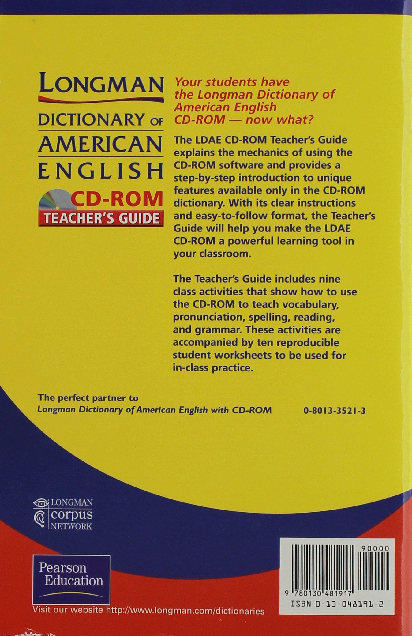 Longman Dictionary Of American English 9780130481917 Amazon Books