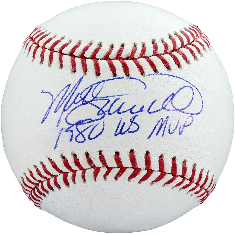 Mike Schmidt Philadelphia Phillies Autographed Baseball with 1980 WS MVP Inscription - Fanatics Authentic Certified