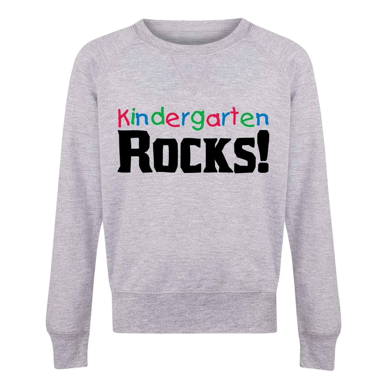 Youth Girls Slouchy Ft Kindergarten Rocks