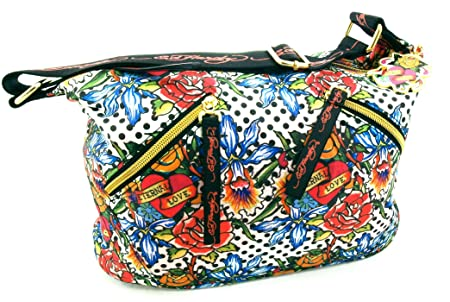 e1a3a2f9e7a4 Image Unavailable. Image not available for. Colour  Ed Hardy Shoulder Bag  ...