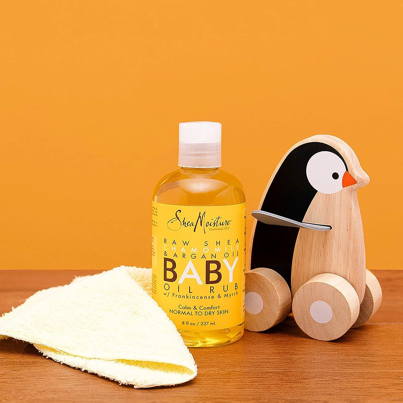 Shea Moisture Raw Shea Butter Baby Oil Rub