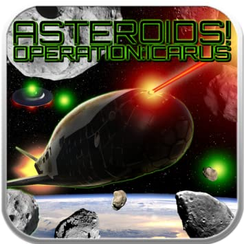 Amazon com: Asteroids! Operation:Icarus: Appstore for Android