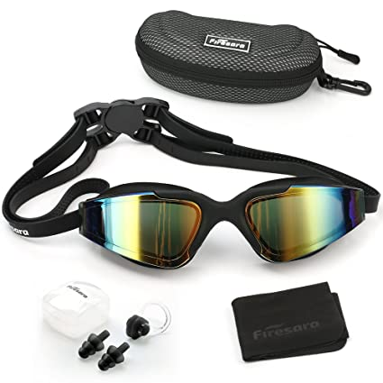 3512562b89ec Amazon.com   Firesara Swim Goggles