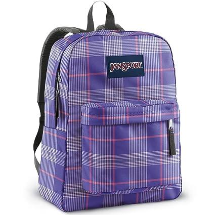 Amazon.com: JanSport Superbreak Mochila (púrpura cielo ...