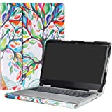 "Alapmk Protective Case Cover for 12.5"" Lenovo Yoga 720 12 720-12IKB Laptop(Not fit Yoga 730/Yoga 720 15/Yoga 720 13/Yoga 710/Yoga 700),Love Tree"