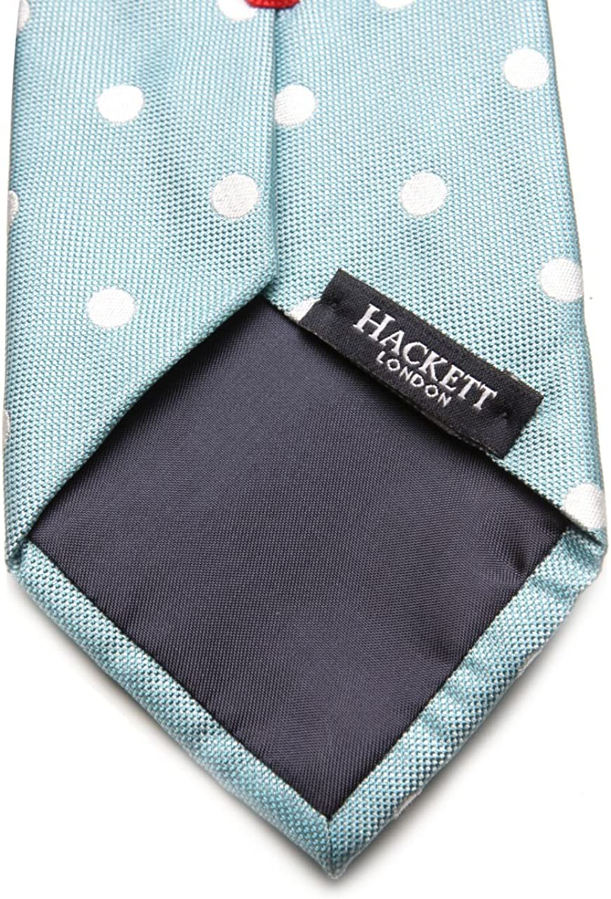 Hackett London Corbata sedoso CHELSEA/DOT para hombre, Color ...