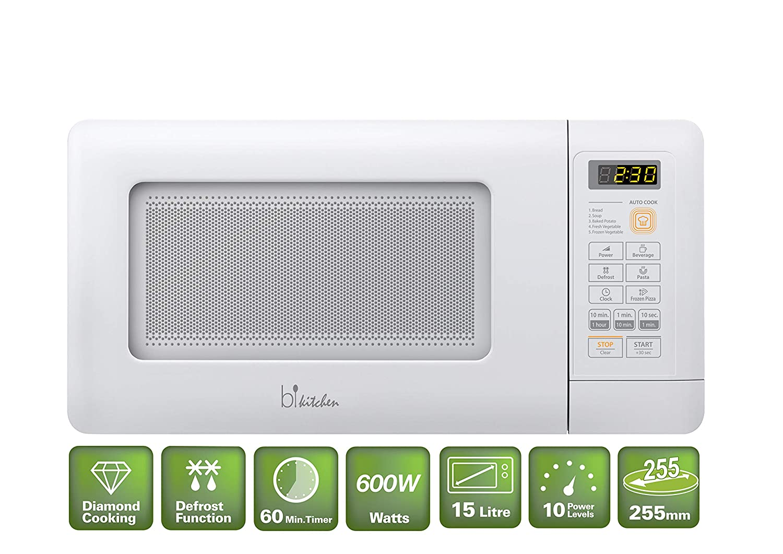BiKitchen Mini 200 microonda 600W: Amazon.es: Electrónica