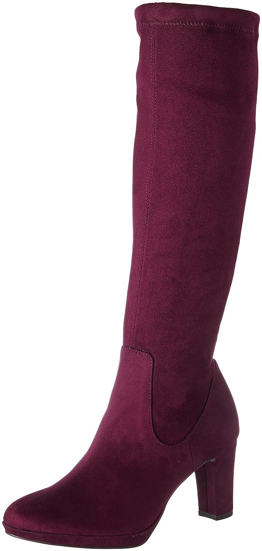 Tamaris 25522, Botas para Mujer Rojo (Merlot)