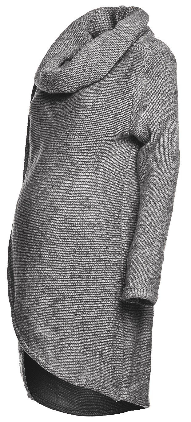 Happy Mama. Women's Maternity Nursing Wrap Knitted Layered Jumper Pullover. 359p UK 10/12 ONE SIZE) nursingsweater_359_8