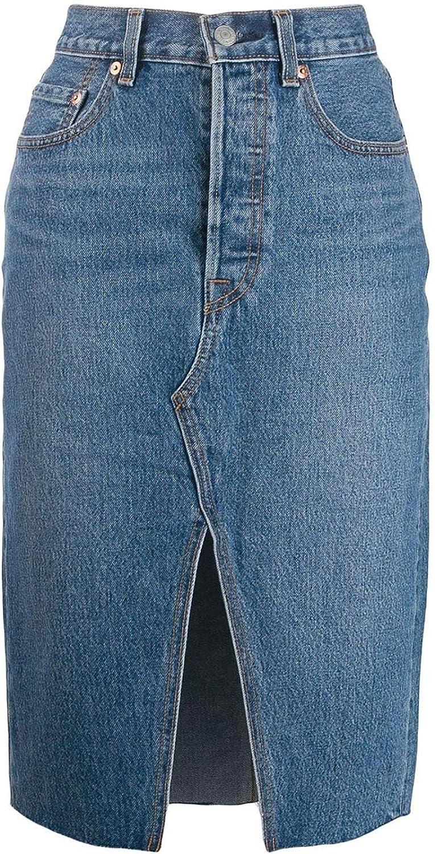 Levis Luxury Fashion Mujer 778830001 Azul Falda | Otoño-Invierno ...