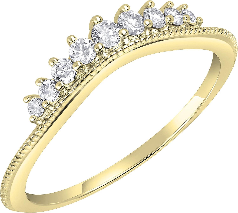 Dazzlingrock Collection Max 68% Outlet sale feature OFF 0.25 Carat ctw Ge Ladies Round Diamond