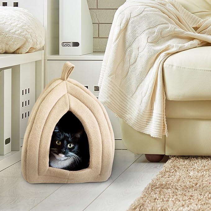 Amazon.com: PETMAKER (Tano) Cama para mascotas de gato ...