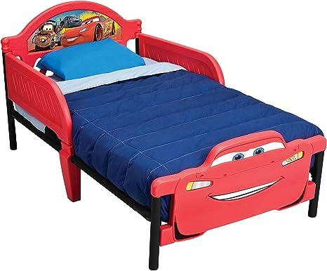 Delta 3d letto per bambini motivo disney cars plastica metallo