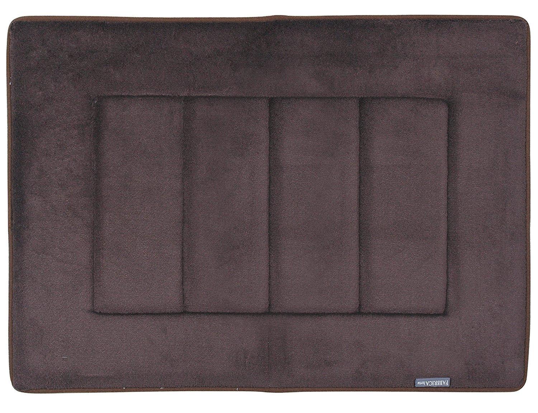 Fabbrica Home Ultra-Soft HD Memory Foam Bath Mat in Sky Blue (17 in. x 24 in) - 2 Pack