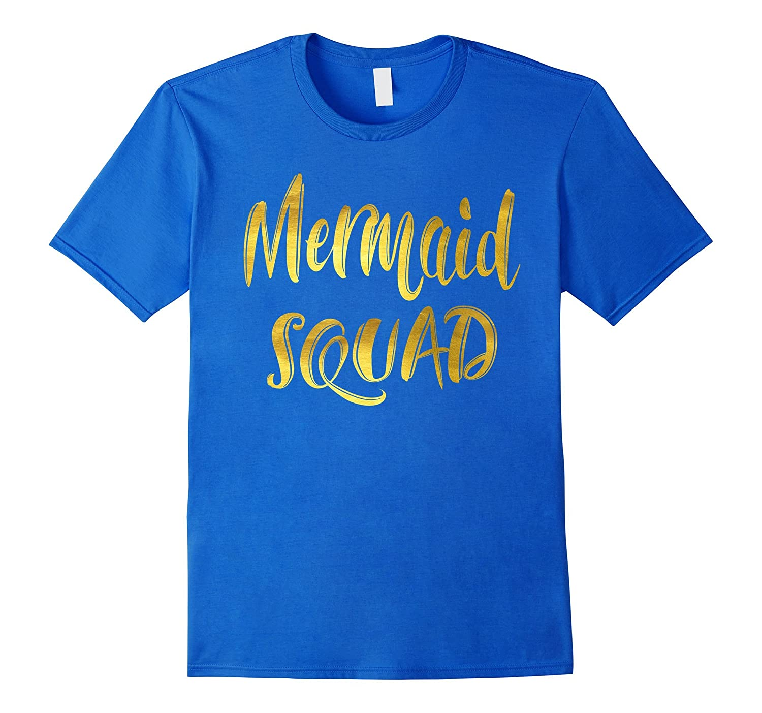 2ea43d05fde2 Mermaid Squad Shirts Cute Mermaid Bridesmaid-TJ – theteejob