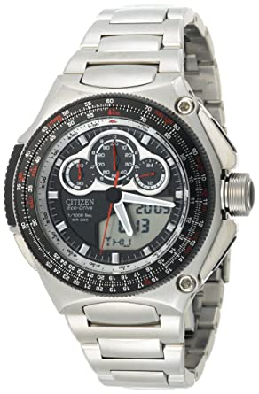 0b26a499747e0 Citizen - JW0010-52E - Montre Homme - Quartz - Digitale - Bracelet Acier  inoxydable