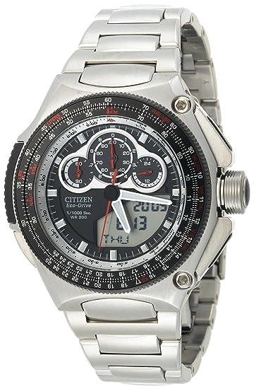 Citizen JW0010-52E - Reloj para hombres, correa de acero inoxidable: Amazon.es: Relojes