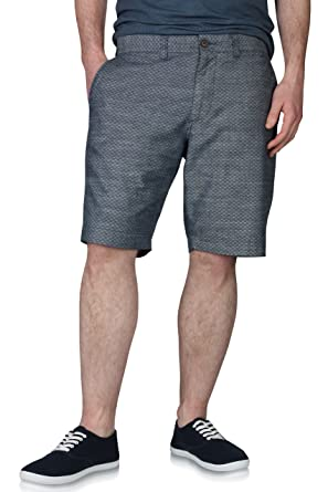 M S Collection Tailored Mens Shorts Pure Cotton Blue Amazon Co Uk
