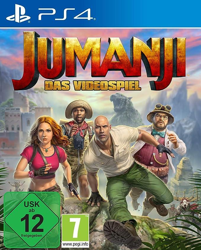 JUMANJI: Das Videospiel - PlayStation 4 [Importación alemana]: Amazon.es: Videojuegos