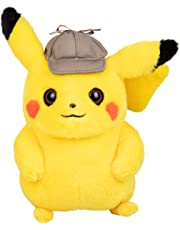 "Pokémon Detective Pikachu Plush Stuffed Animal Toy - 8"" - Ages 2+"
