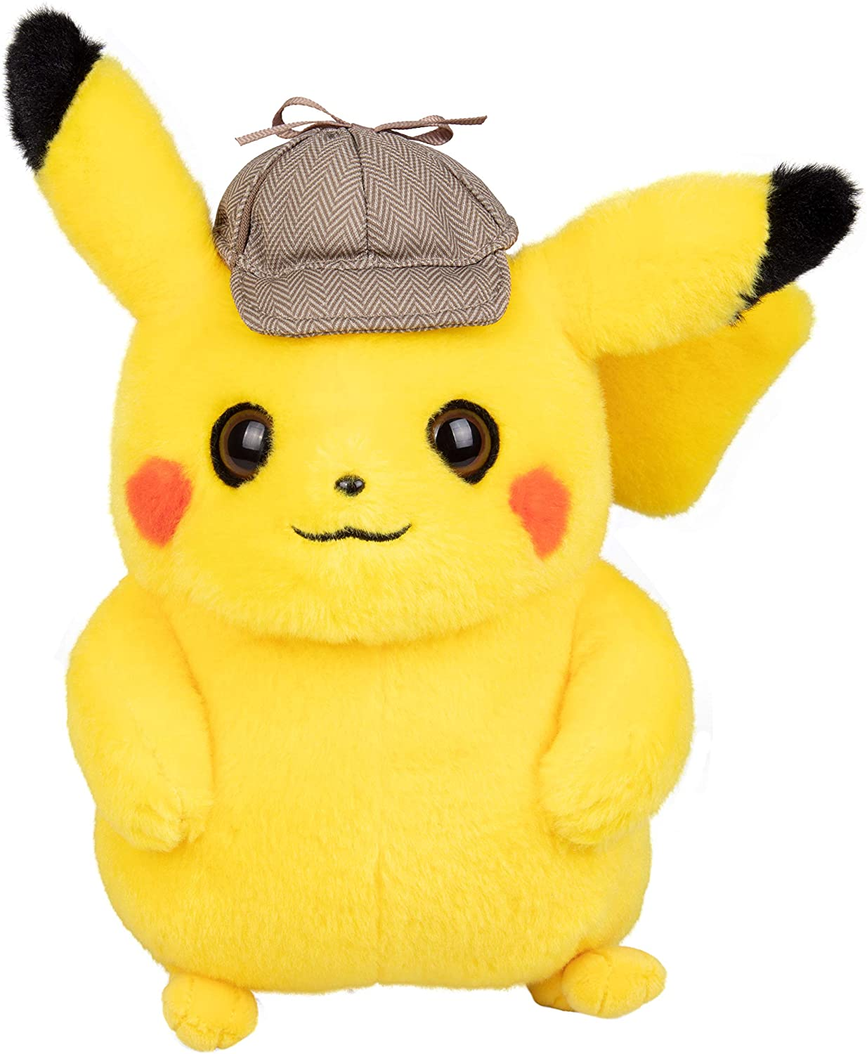 Amazon Com Pokemon Pokemon 97563 Detective Pikachu 8 Inch Plush