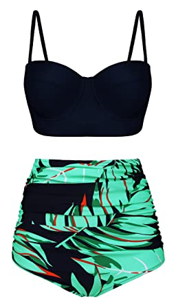 Image Unavailable. Image not available for. Color  Angerella High Waisted  Swimsuit ... 0957e315e913