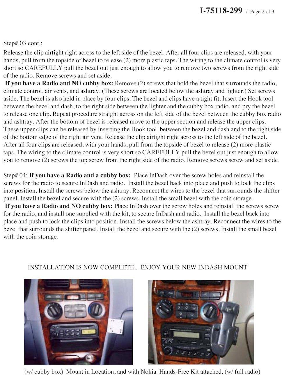 Padholdr Utility Series Premium Locking Tablet Dash Kit for 1999-2005 Hyundai Sonata Pad Holdr PHUC-GB.75118-299-1.717-06SF