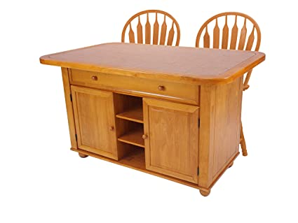 Amazon.com - Sunset Trading Sunset Oak Selections Kitchen ...