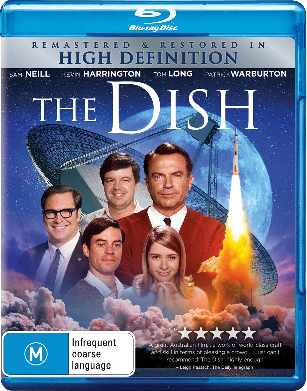 The Dish | Remastered in HD | Sam Neill | Rob Sitch's | NON-USA Format | Region B Import - Australia