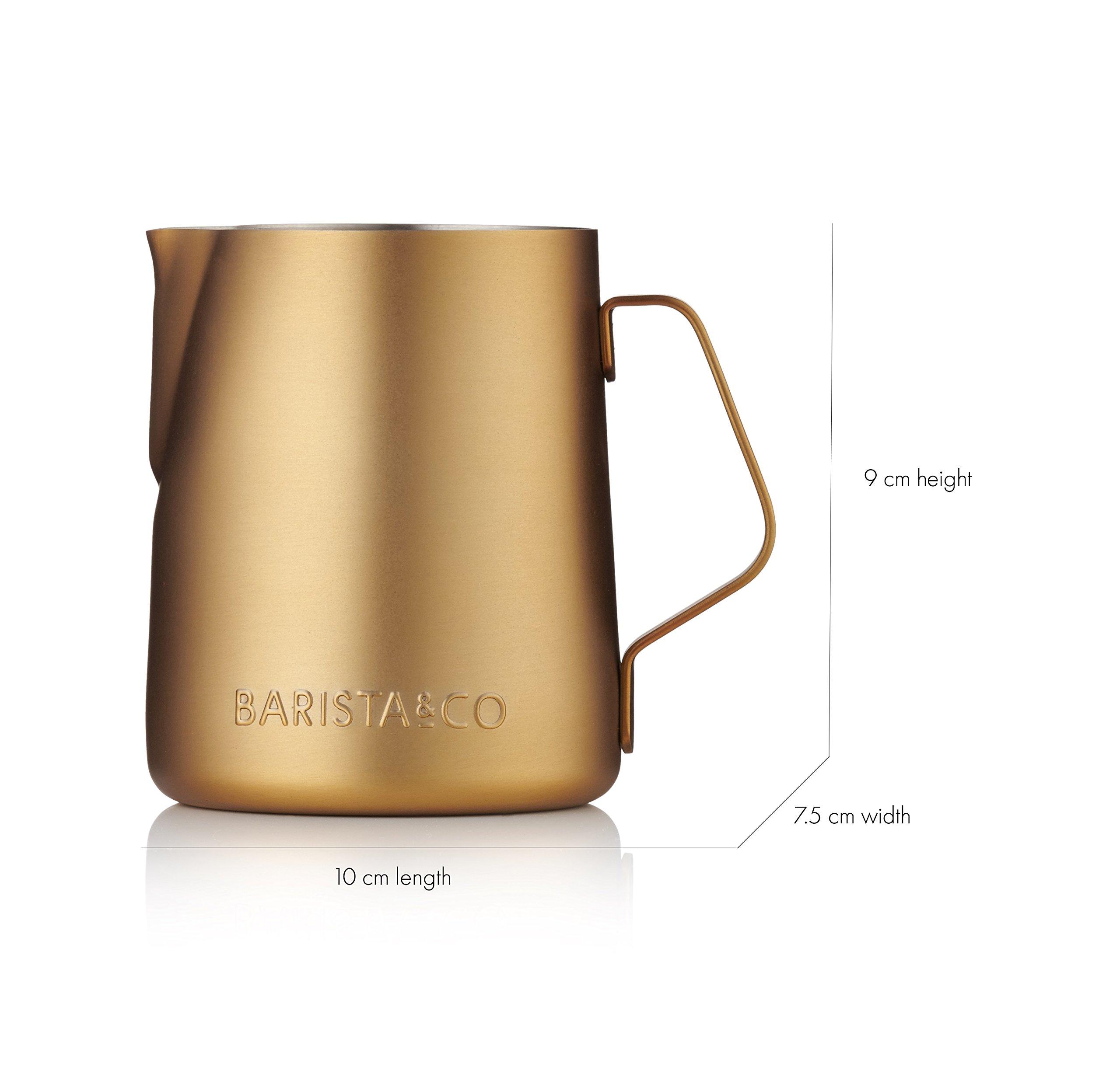 Barista & Co Milk Jug, Midnight Gold by Barista (Image #3)