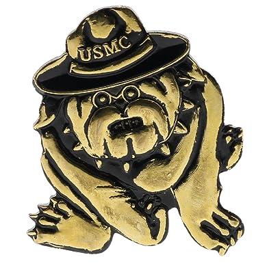 Amazon com: Bulldog Marine Corps Marines USMC 1 3/16 Inch Hat pin